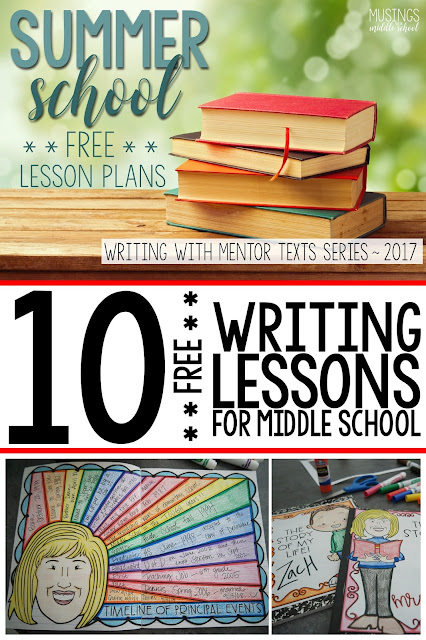 Introducing my 10 FREE writing lessons from my summer learning program 2017!!