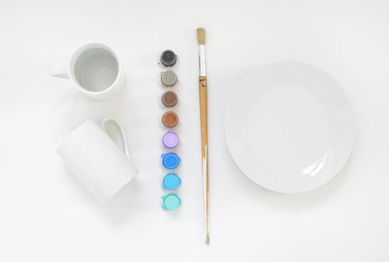 how to paint ceramics