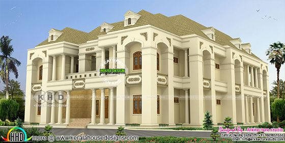 929 square meter 6 bedroom Colonial house