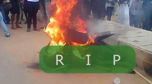 armed robber burnt alive benue state
