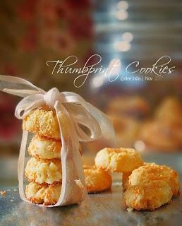 Ide Resep Kue Kering Pineapple Thumbprint Cookies