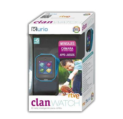 JUGUETES - Smartwatch Clan Kurio Reloj Infantil | Clan Watch Cefa | Comprar en Amazon España