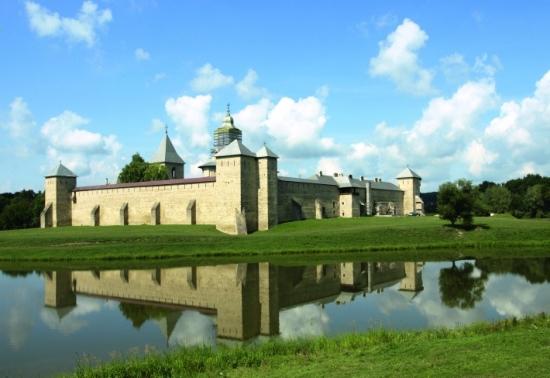 Manastirea Dragomirna din zona Sucevei