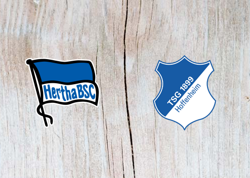 Hertha Berlin vs Hoffenheim - Highlights 24 November 2018