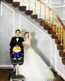haha and byul wedding pictures