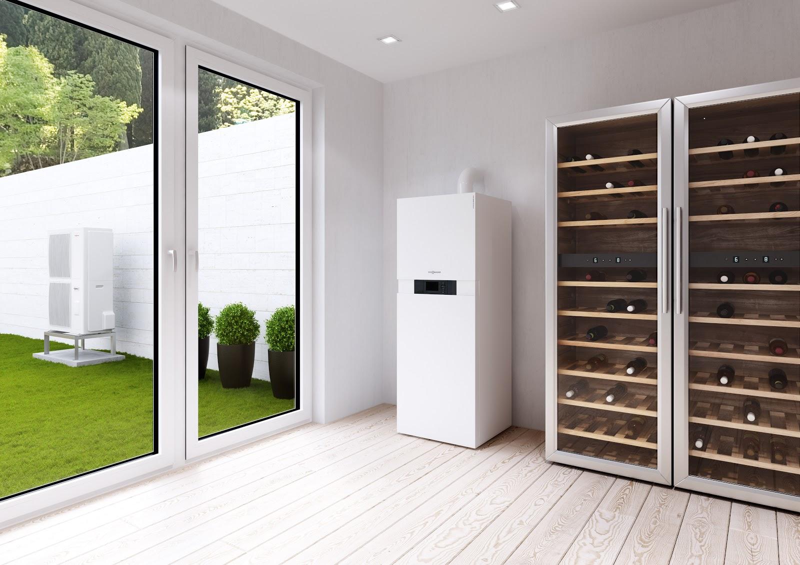 viessmann vitocaldens 222 f pompe chaleur hybride pour. Black Bedroom Furniture Sets. Home Design Ideas