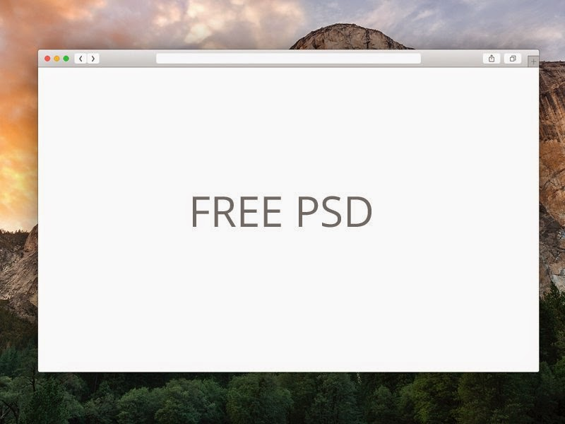 Free Safari PSD