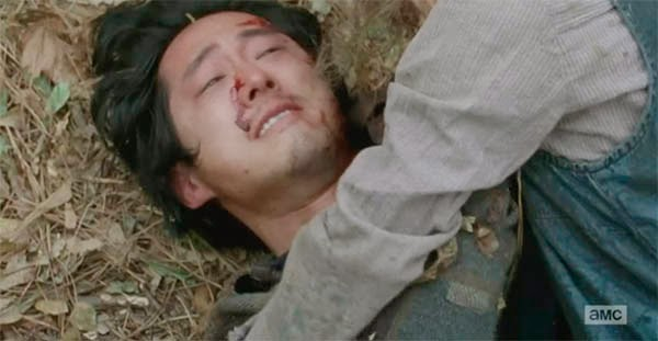 Glenn en The Walking Dead 5x16