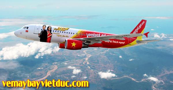 Đặt vé máy bay 5.000 đồng hãng Vietjet Air