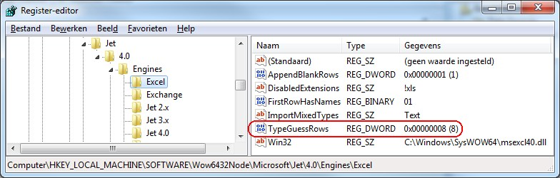 Excel source truncates data with more than 255characters