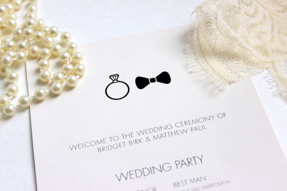 classy wedding paper