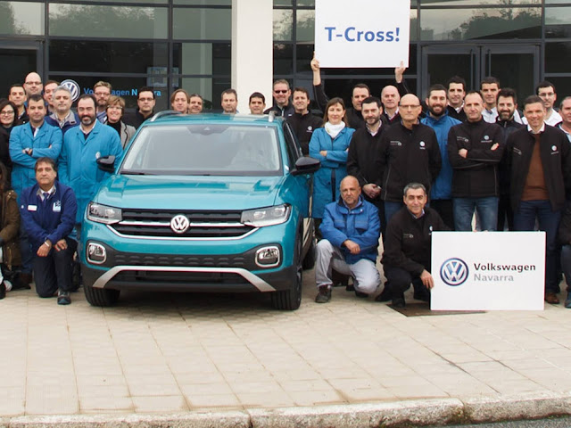 Volkswagen T-Cross - concorrente do Honda HR-V
