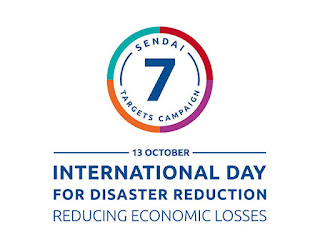 International Day for Disaster Reduction: October 13
