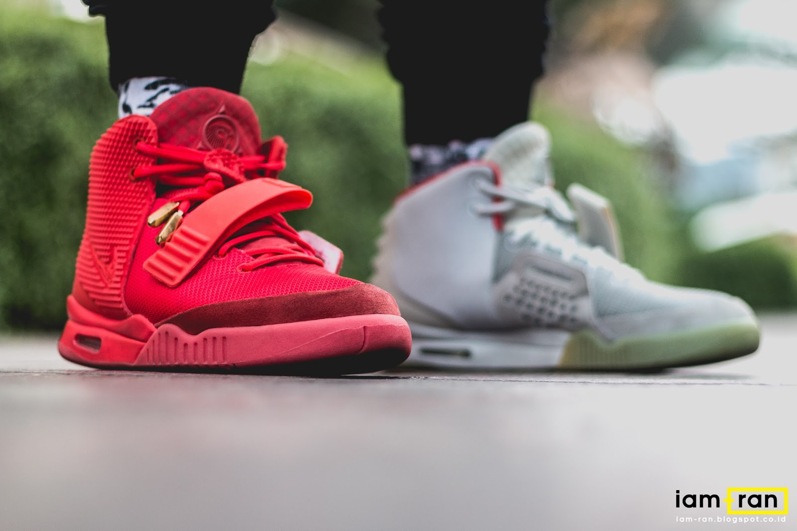 "IAM-RAN: ON FEET : Mike - Nike Air Yeezy 2 SP "" Red ..."