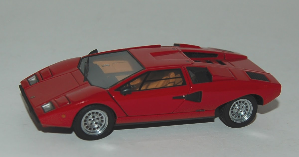 el kekom vil lamborghini countach lp 400 de kyosho mr. Black Bedroom Furniture Sets. Home Design Ideas