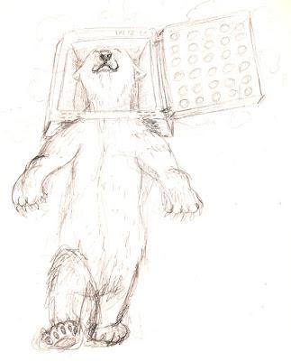 croquis illustration jeunesse children 'polar bear' ours