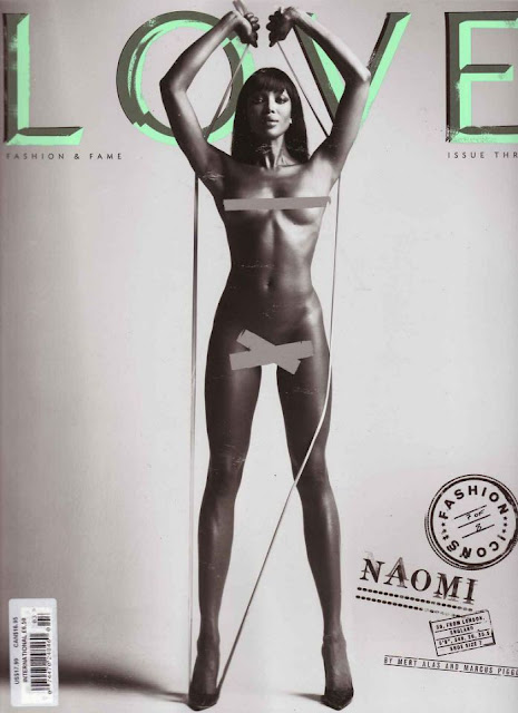 Naomi Campbell - Love magazine