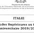 إيطاليا: منح الدراسة برسم السنة الأكاديمية 2020/2019  Italie_bourses_Gouv
