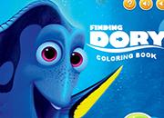 Buscando a Dory Coloring Book juego
