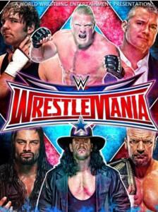 WWE WrestleMania 32 (2016) HDRip 750MB