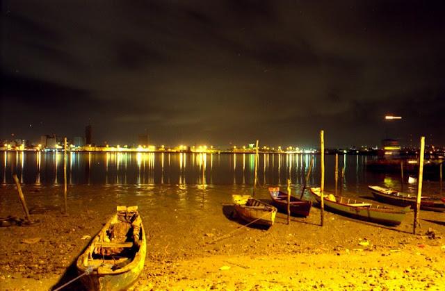Noite na orla de Aracaju