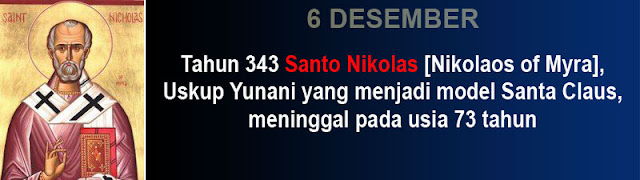 Hari kematian Santo Nikolas