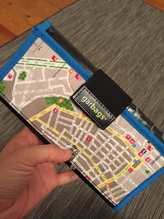 I love my map wallet!