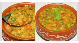 You must have eaten a lot, but you have not eat such a healthy and tasty khichadi