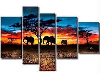 imagenes-de-lienzos-de-paisajes-africanos