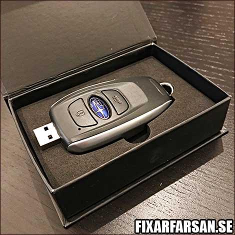 Tävling-USB-Minne-Subaru