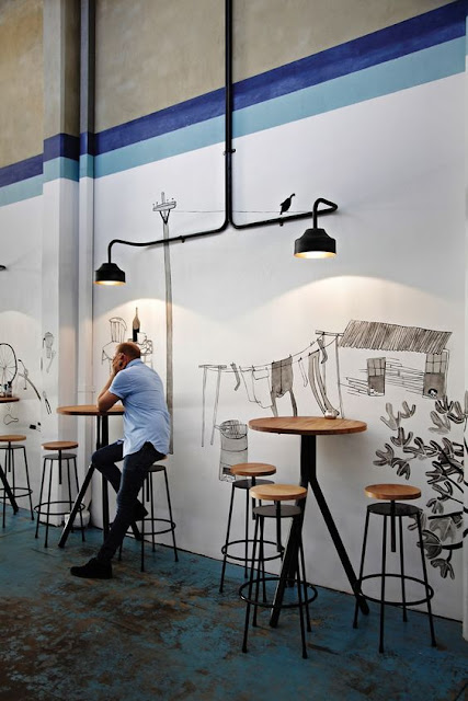 desain kursi cafe gaya
