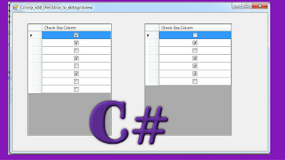 c# datagridview checkbox column