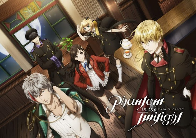 Anime Phantom in the Twilight: Nuevo tráiler de la serie