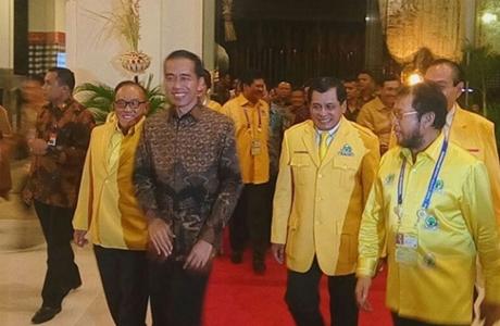 Heboh, Presiden Jokowi Bicara Blak-blakan di Munaslub Partai Golkar