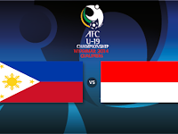 Filipina vs Indonesia Kualifikasi AFC U19 2014