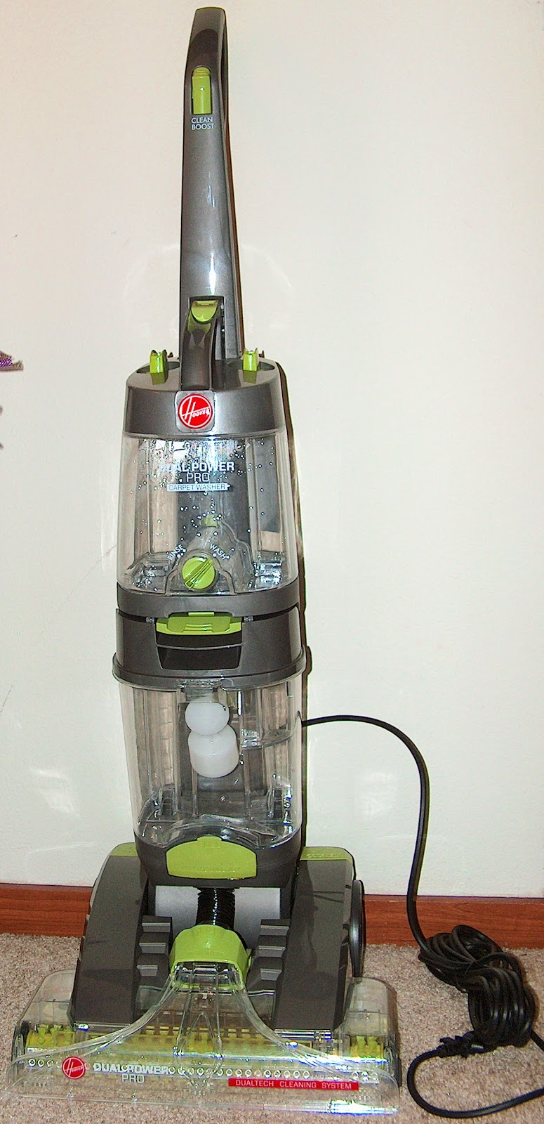 Hoover Dual Power Pro Carpet Washer - Model FH51200 ...