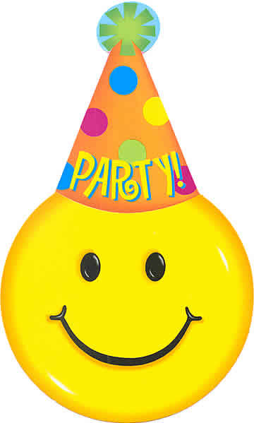 15 Best Happy Birthday Smileys - Party Theme | Smiley Symbol