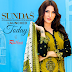 Sundas Fall Cotton Embroidery Collection 2016-17 Vol-1 by Rujhan Fabrics