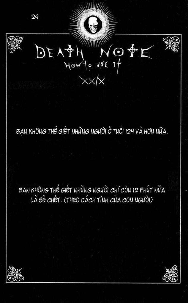 Death Note chapter 110 - how to use trang 32