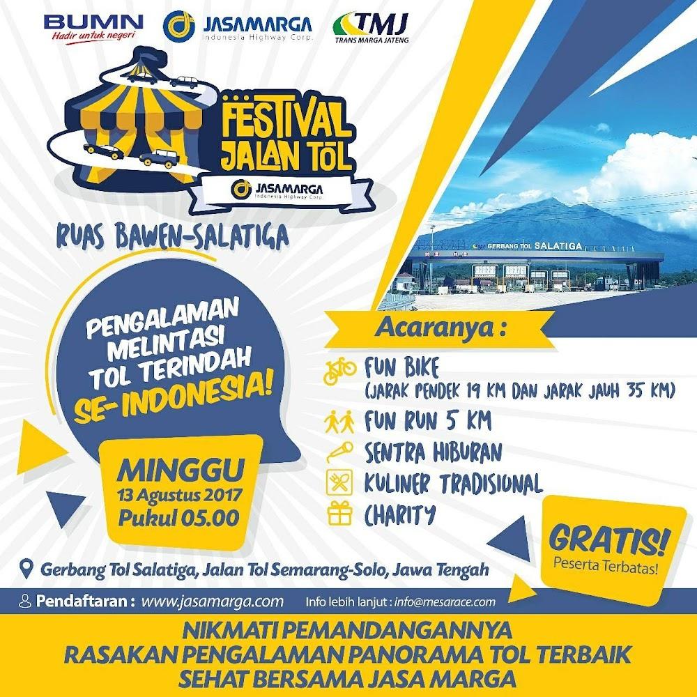 Festival Jalan Tol Jasa Marga • 2017