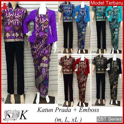ZBT06809 Kebaya Batik Couple Sdk Kutubar Modern BMGShop