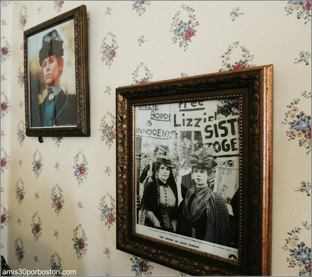 Lizzie Borden Bed & Breakfast Museum: Fotos de Elizabeth Montgomery en la Película