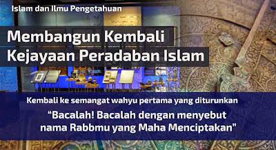 islam dan ilmu pengetahuan - kembali ke semangat wahyu pertama