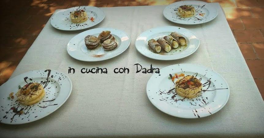 Lezioni di pasticceria tipica siciliana...