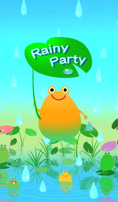 Rainy party