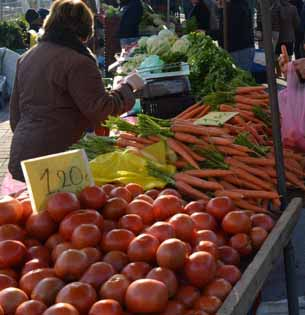 Σήμερα Παρασκευή 24 Νοεμβρίου η λαϊκή αγορά του Σαββάτου, λόγω της εορτής της Αγίας Αικατερίνης.