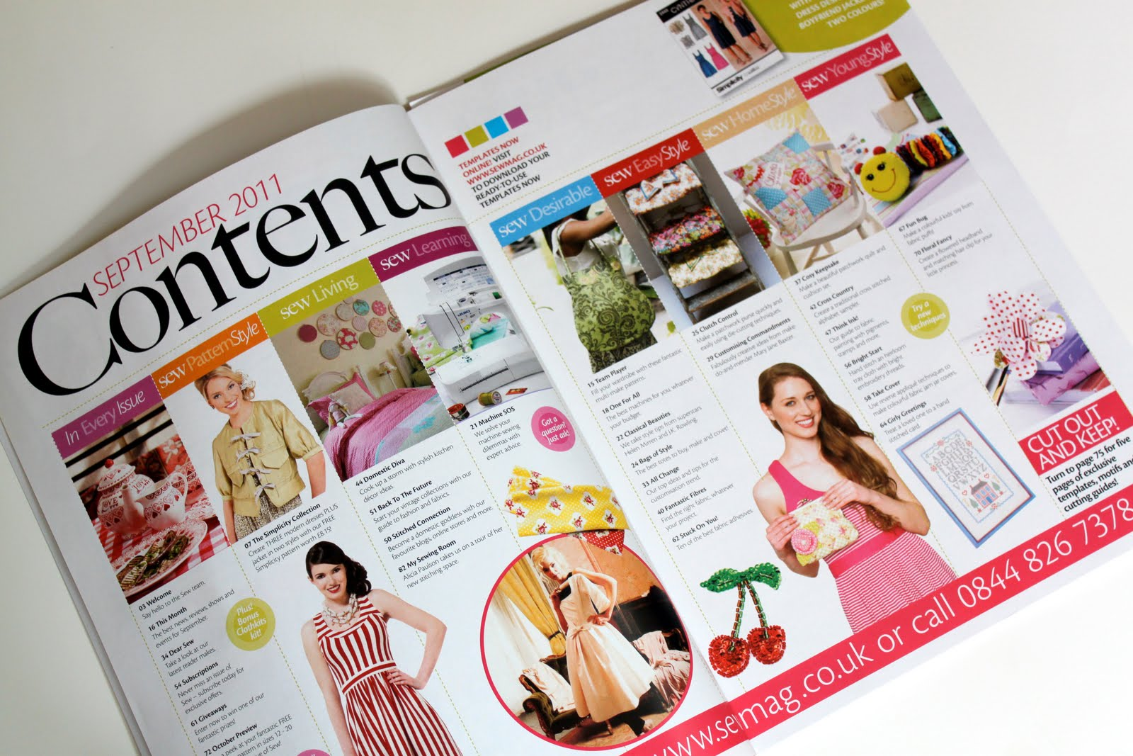 Sew Magazine: Blog of the Month - The Cottage Mama