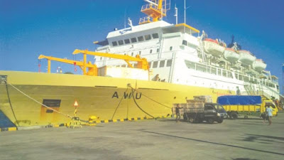 Jadwal lengkap keberangkatan kapal pelni awu terbaru 2019