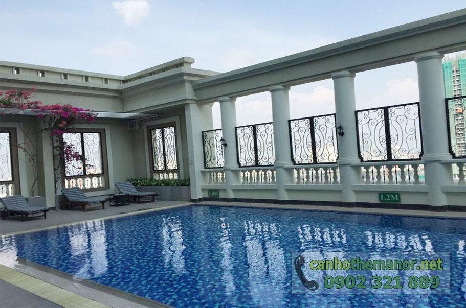 bán và cho thuê căn hộ the manor - view hồ bơi