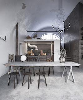 ห้องครัวสีเทา